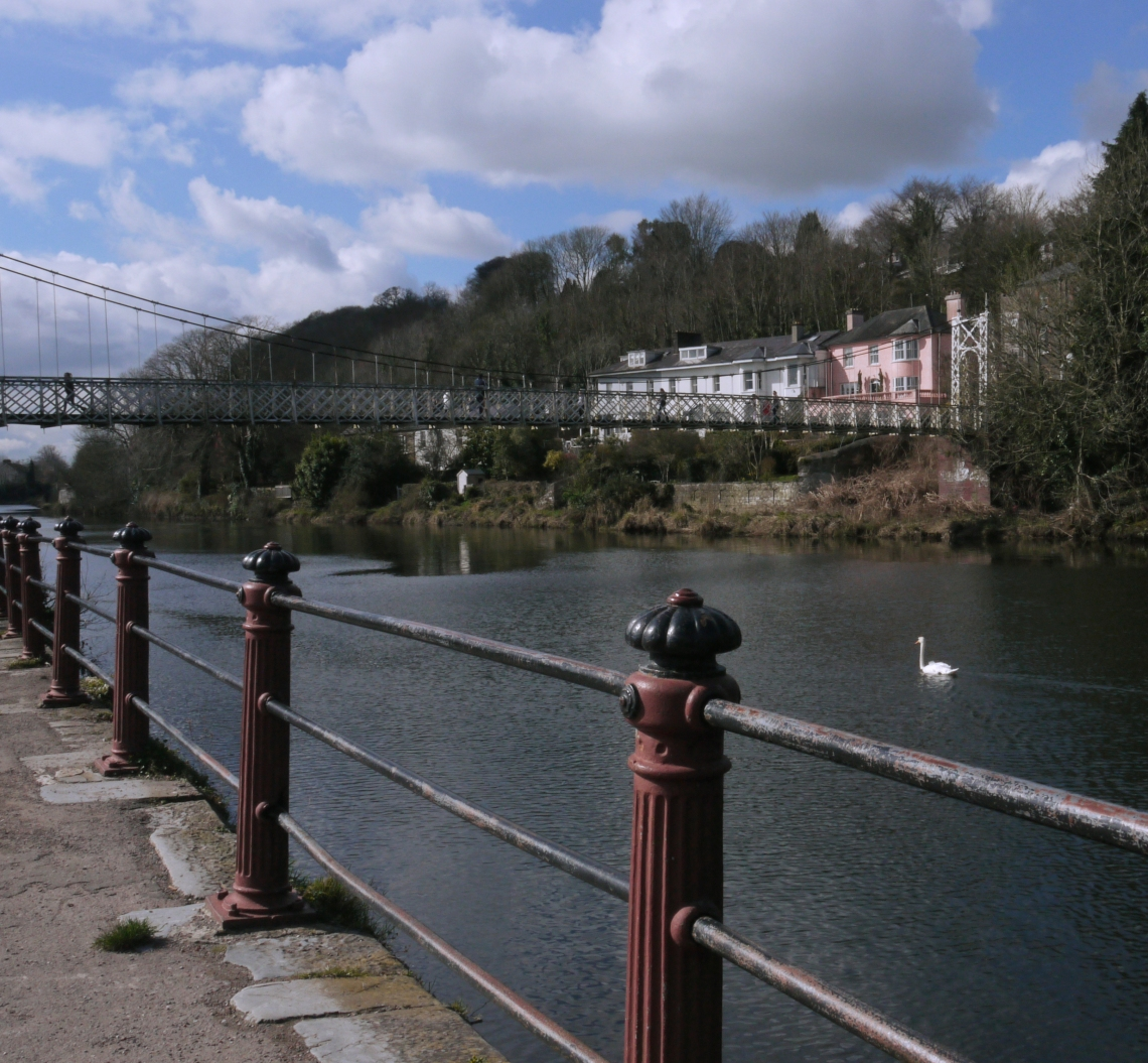 View of the Shakey Bridge